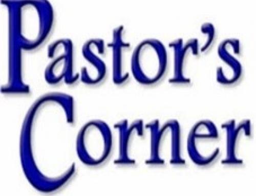 Pastor's Corner – October